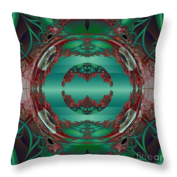 Portal / Escape Hatch  Throw Pillow by Elizabeth McTaggart