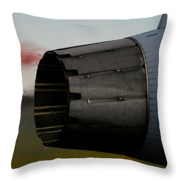 Power II Throw Pillow by Paul Job