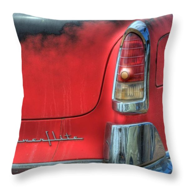 Powerflite Throw Pillow by Bob Christopher