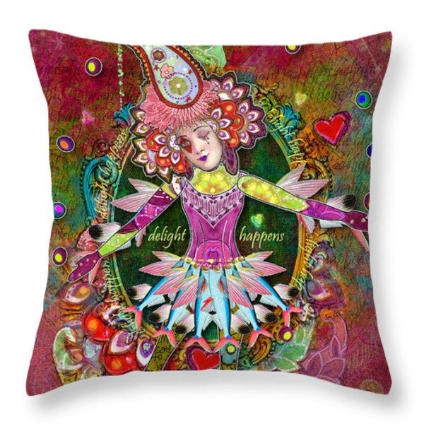 Pranceitude Throw Pillow by Aimee Stewart