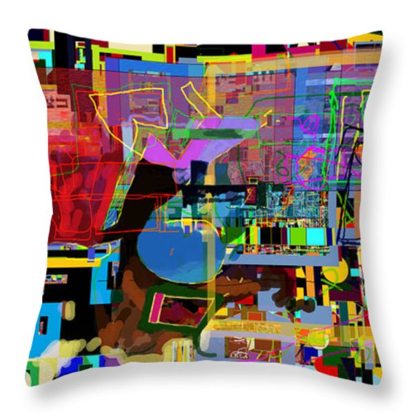 precious is man for he is created in the Divine Image 9 Throw Pillow by David Baruch Wolk