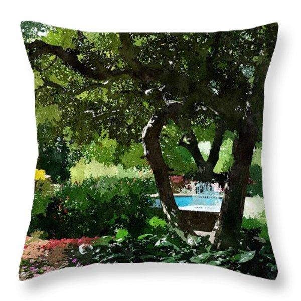Prescott Park PPWC Throw Pillow by Jim Brage