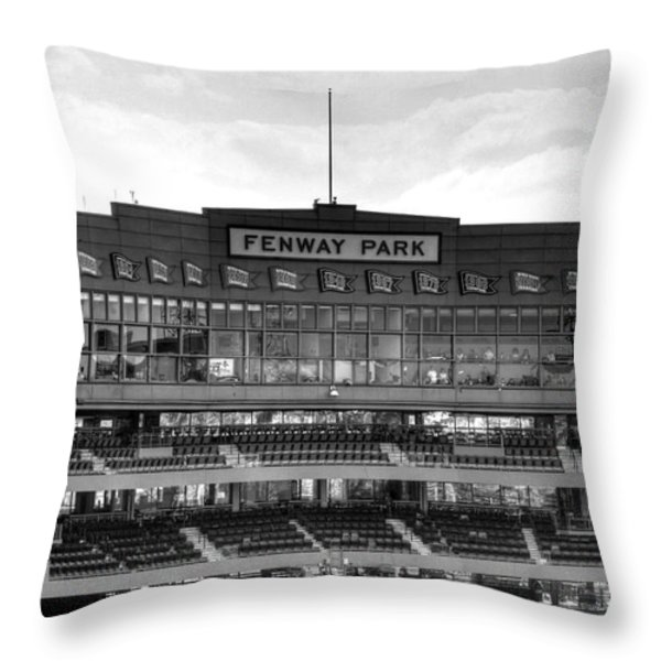 Press Box Throw Pillow by Jonathan Harper