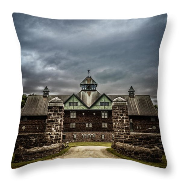 Private School Throw Pillow by Edward Fielding
