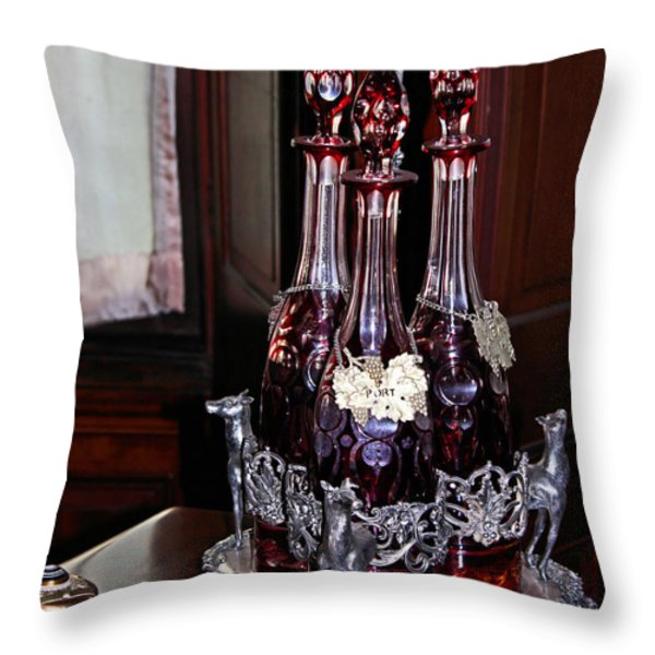 Private Stock Throw Pillow by Kristin Elmquist