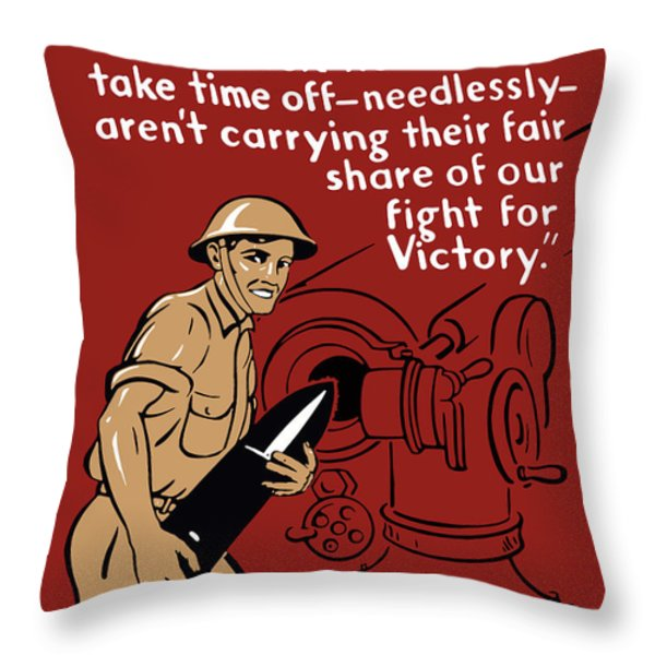 Private Tom Throw Pillow by War Is Hell Store