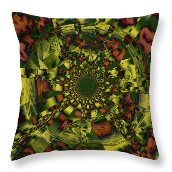 Process of Selective Memory Throw Pillow by Elizabeth McTaggart