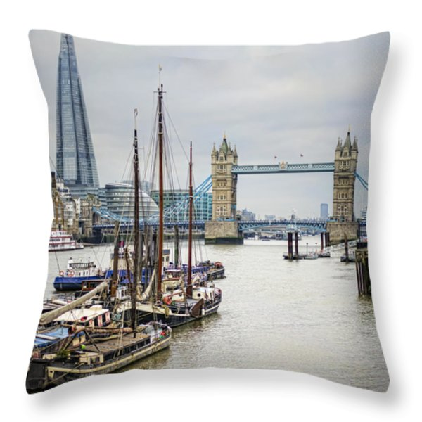 Progress Throw Pillow by Heather Applegate