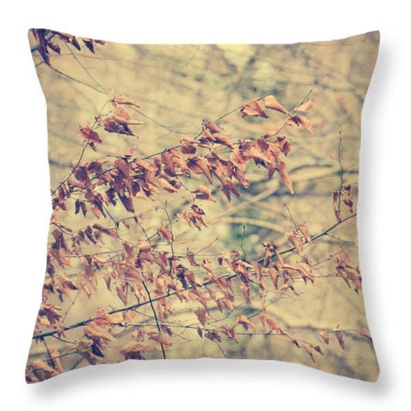 Promise Throw Pillow by Taylan Soyturk