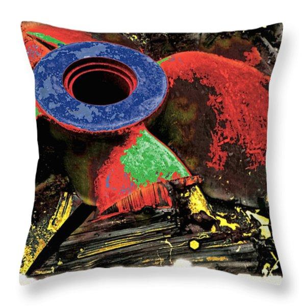 Propellor Throw Pillow by Mauro Celotti