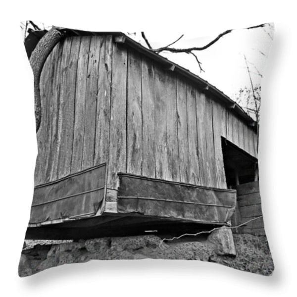 Propped Up Throw Pillow by Susan Leggett
