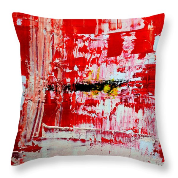 Protection Throw Pillow by Andrea Anderegg