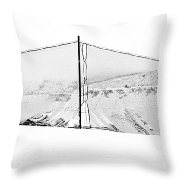 PROTECTION Throw Pillow by Theresa Tahara