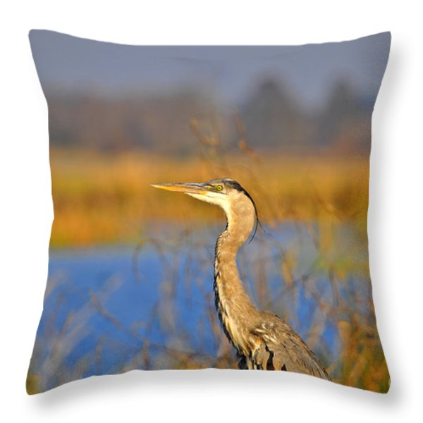 Proud Profile Throw Pillow by Al Powell Photography USA