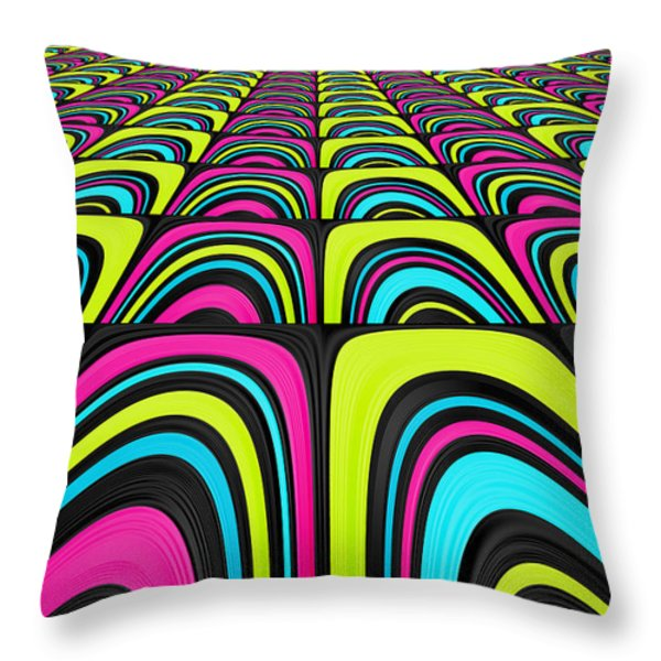 Psychel - 003 Throw Pillow by Variance Collections