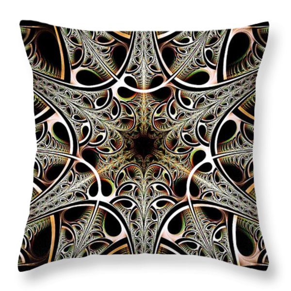 Psychotronic Revolution Throw Pillow by Anastasiya Malakhova