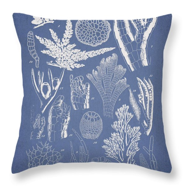 Pterosiphonia Fibrillosa Throw Pillow by Aged Pixel