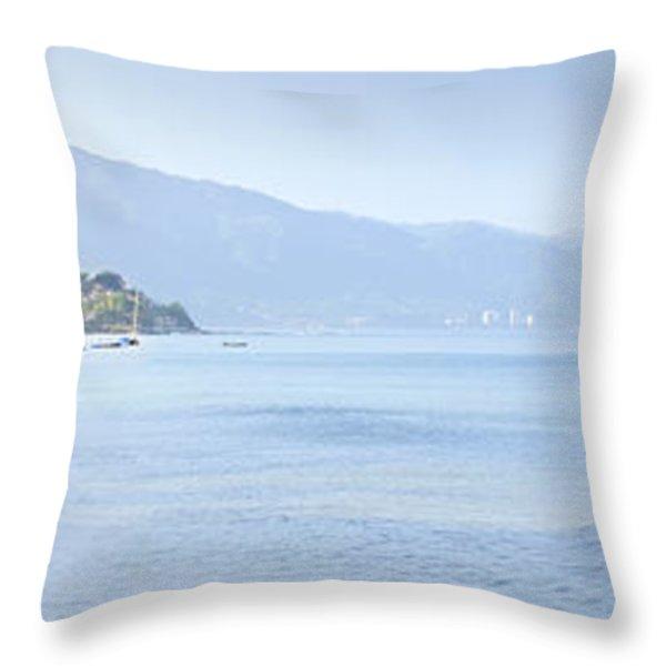 Puerto Vallarta Beach In Mexico Throw Pillow by Elena Elisseeva