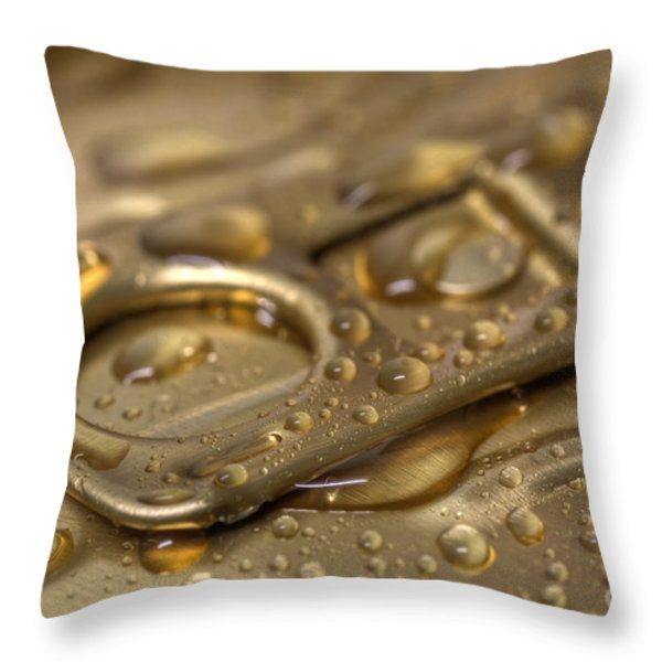 Pull It Back Throw Pillow by Tracy  Hall