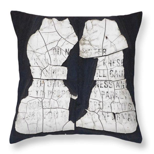 Puppy Love Throw Pillow by Christi Kraft