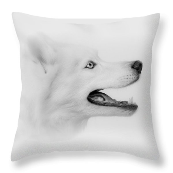 Pure Throw Pillow by Betty Depee