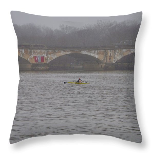 Pure Dedication Throw Pillow by Bill Cannon