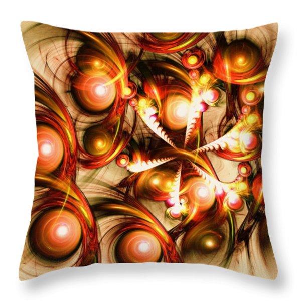 Pure Energy Throw Pillow by Anastasiya Malakhova