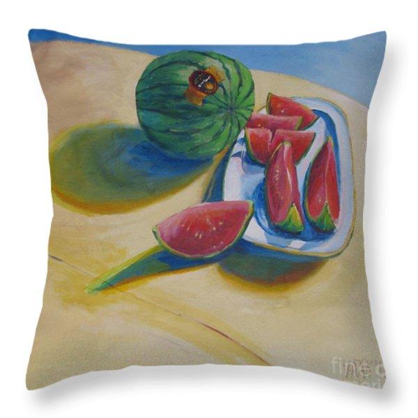 pure heart Throw Pillow by Vanessa Hadady BFA MA