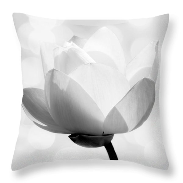 Pure Throw Pillow by Photodream Art