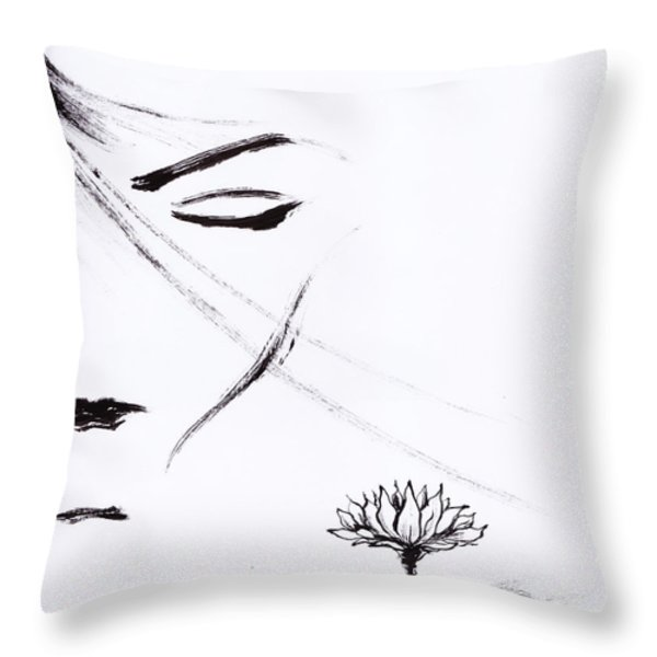 Purity Throw Pillow by Len YewHeng