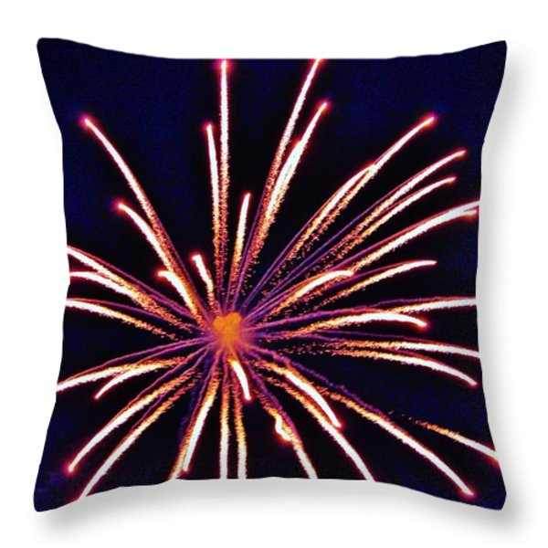 Purpe Majesty Throw Pillow by Cynthia N Couch