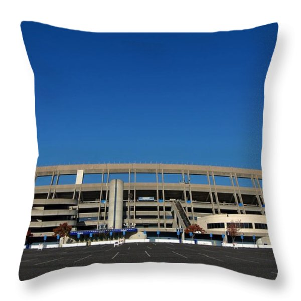 Qualcomm Stadium Throw Pillow by See My  Photos