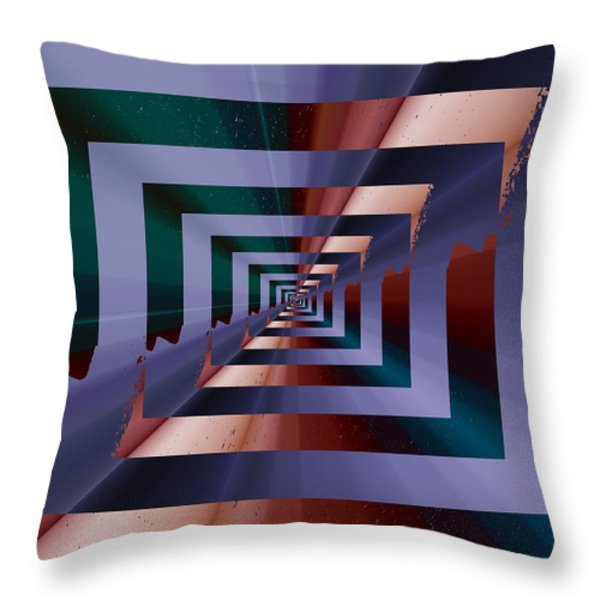 Quantum Conundrum Throw Pillow by Tim Allen