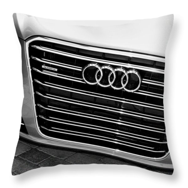 QUATTRO Palm Springs Throw Pillow by William Dey