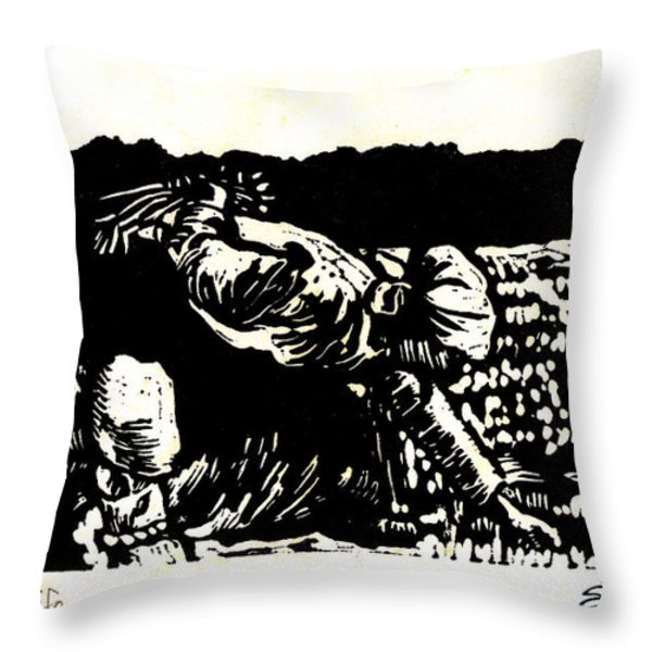 Quest For Life Throw Pillow by Seth Weaver