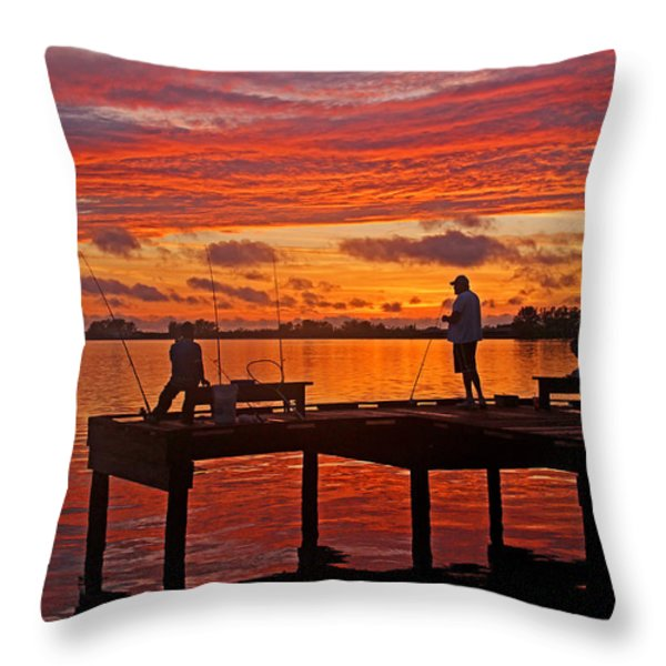 R and R Throw Pillow by HH Photography