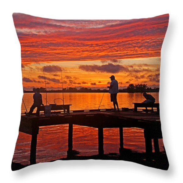 R and R Throw Pillow by HH Photography of Florida