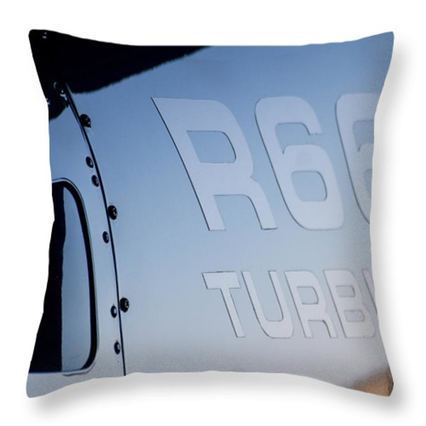 R66 Reflection Throw Pillow by Paul Job