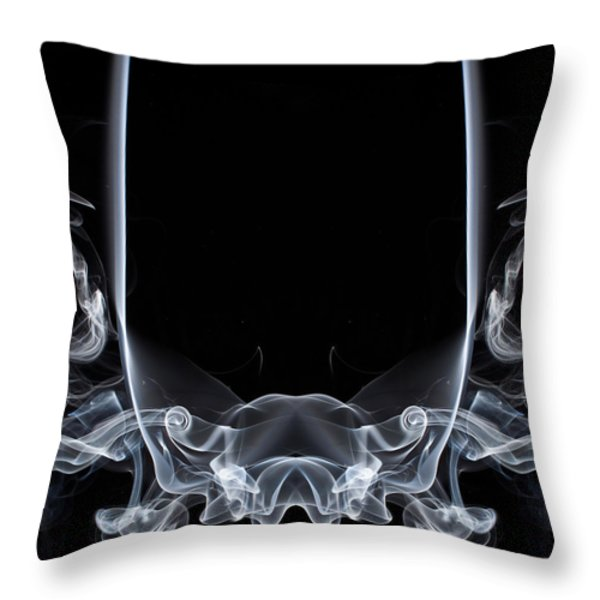 Raging Bull 1 Throw Pillow by Steve Purnell