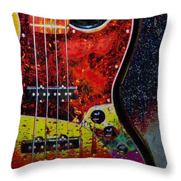 Rain Over Me Throw Pillow by Jan Amiss Photography