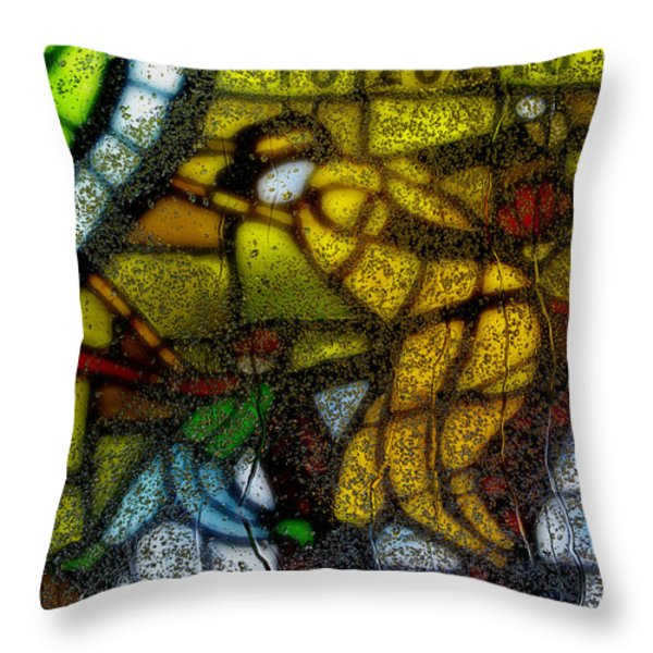 Rainy Day 1 Throw Pillow by Jack Zulli