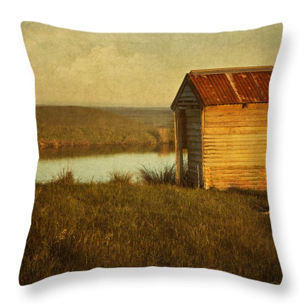 Ramshackle Throw Pillow by Amy Weiss