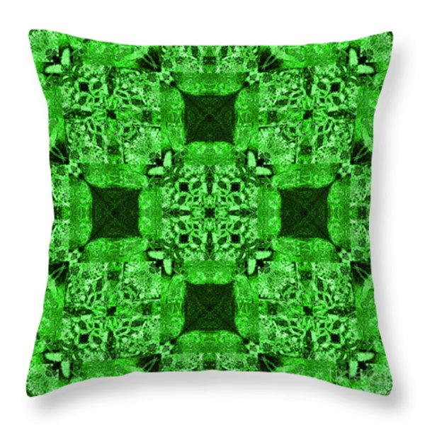 Rattlesnake Abstract 20130204p75 Throw Pillow by Wingsdomain Art and Photography