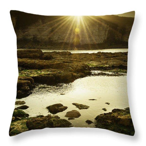 Rays Throw Pillow by Svetlana Sewell