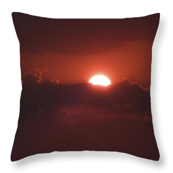 Reach For The Sky 3 Throw Pillow by Mike McGlothlen
