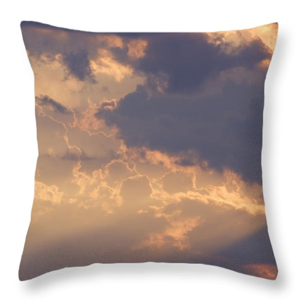Reach For The Sky 9 Throw Pillow by Mike McGlothlen