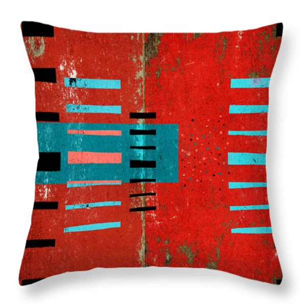 Reaching Out Throw Pillow by Carol Leigh