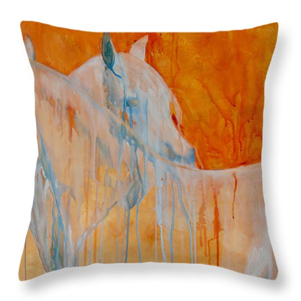 Reciprocity Throw Pillow by Jani Freimann