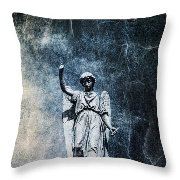 Reckoning Forces Throw Pillow by Andrew Paranavitana