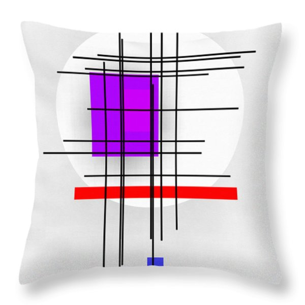 Reckoning Throw Pillow by Richard Rizzo